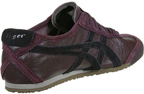 Onistuka Tiger Mexico 66 Vin, Sneakers Basses Mixte adulte violet noir