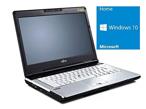 Fujitsu Lifebook S751 Notebook / Laptop | 14 Zoll Display | Intel Core i5-2520M @2,5 GHz | 4GB DDR3 RAM | 160GB HDD | DVD-Brenner | Windows 10 Home vorinstalliert (Zertifiziert und Generalüberholt)