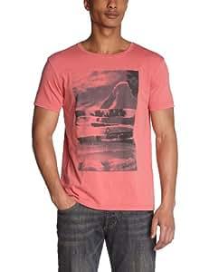 Quiksilver - T-Shirt - Homme - Rouge (Grenat) - L