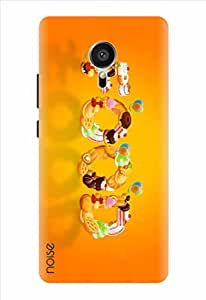 Noise Food Yellow Printed Cover for Meizu Mx5 Pro