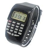 Pagacat Calculadora de Moda para Estudiantes Reloj para Examen Reloj electrónico Relojes