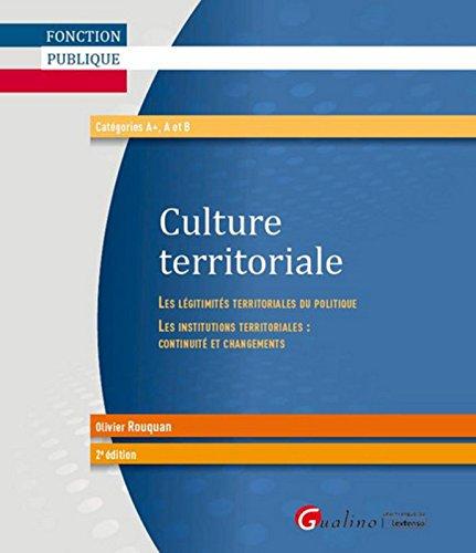 Culture terrritoriale, 2ème Ed.