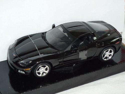 Chevrolet Chevy Corvette C6 C 6 Ab 2005-2012 Coupe Schwarz 1/24 Motormax Modellauto Modell Auto