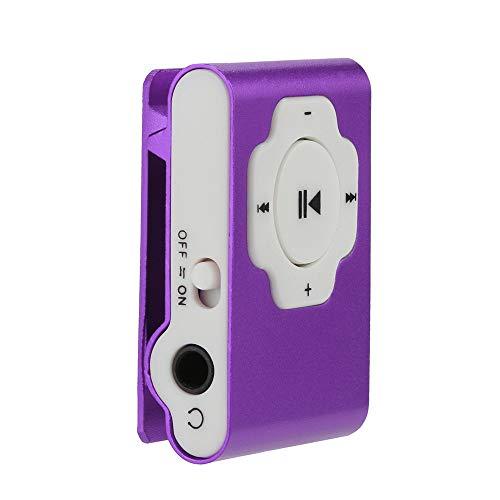 OSYARD MP3 Player,Musik Player,Mini Tragbarer Touch-Taste USB MP3 Player Verlustfreie Sound Sport Musik Medien mit Clip für Joggen,Wandern oder Campingund,Unterstützt 32GB Micro SD/TF Karte