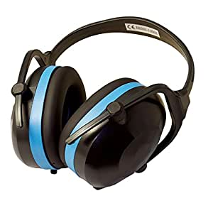 Silverline 633816 Klappbarer Kapselgehörschutz, SNR 30 dB