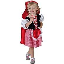 fyasa fyasa706032-t00Little disfraz de Caperucita, pequeña, color rojo