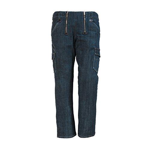 FHB Jeans-Zunft, Friedhelm, Größe 46, schwarz / blau, 22660-22-46 (Blau Planeten Kleidung)
