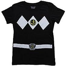 Ranger Negro Ranger disfraz de negro a alta y baja presión camiseta para niños-camiseta