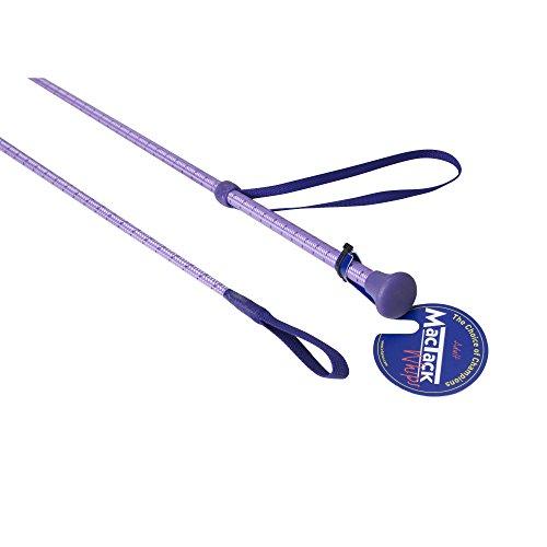 MacTack CW49 Reitgerte (61 cm) (Lila/Violett gefleckt)