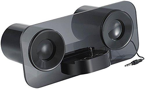 auvisio Stereo Lautsprecher MSS-222 für Smartphone & Tablets (Klinke)