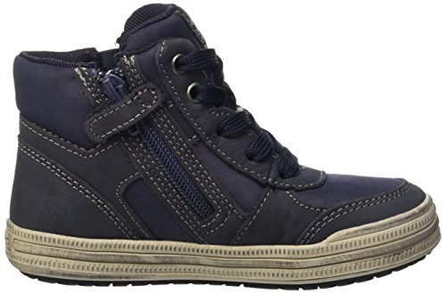 Geox Elvis B, Sneakers Hautes Garçon Blau (NAVY/GREYC0661)