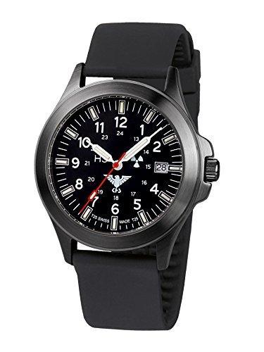 KHS Tactical Watches Black Platoon Titan KHS.BPT.SB Militär Armbanduhr