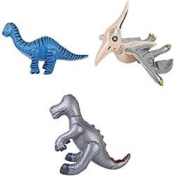 MagiDeal 3 Pedazos Juguete Pterosaur Inflatable Blow-up Pterosaurio Dinosaurio para Niños - #3