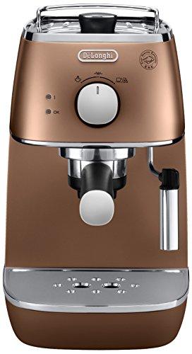 De'Longhi ECI 341.CP DISTINTA Espressomaschine mit Cappuccino-Aufschäumdüse,Metallic