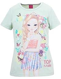 Top Model Mädchen T-Shirt Christy Hellgrün 85061