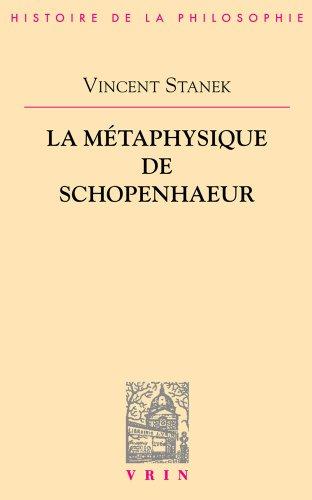 La métaphysique de Schopenhauer