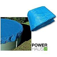 Powerhaus24 - Telone di copertura per piscine rotonde con diametro da 3,50 a 3,60 m, con elastico