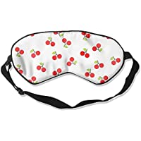 Comfortable Sleep Eyes Masks Red Cherry Pattern Sleeping Mask For Travelling, Night Noon Nap, Mediation Or Yoga preisvergleich bei billige-tabletten.eu
