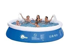 Steinbach Aufstellpool Speed-Up Pool Set, Blau, Ø 366 x 91 cm