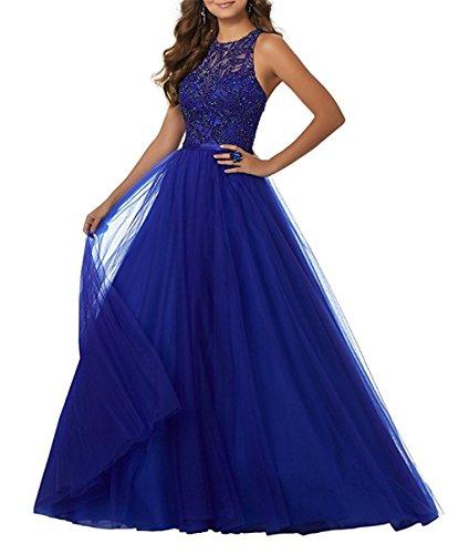 eb7c29e71c6 CLLA dress Damen Bodenlangen Perlen Abendkleider A-Line Ballkleider Elegant  Rundhals Hochzeitskleider BGWD1003