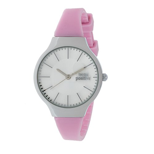 ladies-think-positiver-model-se-w31-classic-steel-strap-of-silicone-color-pink