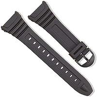 Bracelet en silicone avec boucle à ardillon pour bracelet de sport Casio W-96H
