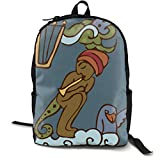 MGTXL Personality Knapsack Z for Art Travel and Outdoor Sports Durable Backpack