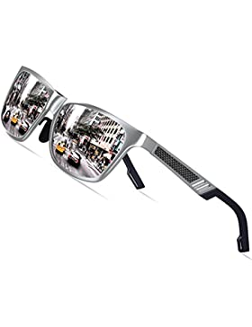 KITHDIA de magnesio y aluminio polarizadas de los hombres gafas de sol para la conducción deportiva viaje