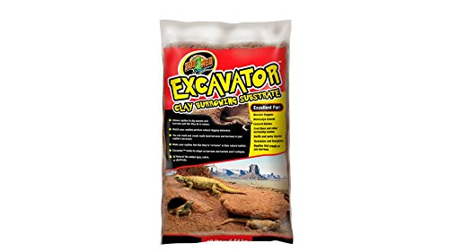 Zoo Med Excavator Clay Burrowing Substrat pour Reptile/Amphibien 9 kg