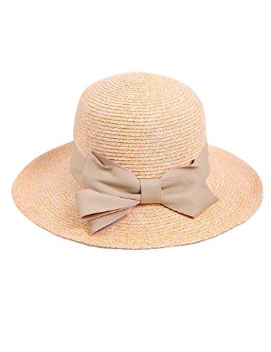 Chapeau de soleil Femme d'été chapeau de plage chapeau de soleil écran solaire Voyage Anti-UV pliable chapeau de paille Plage Cap ( Couleur : 7 ) 2