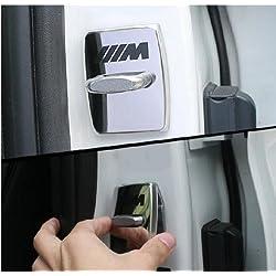 Odster 4pcs Autot¨¹rschloss Abdeckungs-Fall f¨¹r BMW E46 E39 E90 E36 E60 E34 E30 F30 F10 X 5 E53 Car Interior Zubeh?r Styling