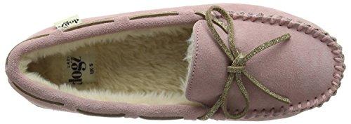 Lazy Dogz - Sadie, Pantofole Donna Rosa (Rosa (Pink))
