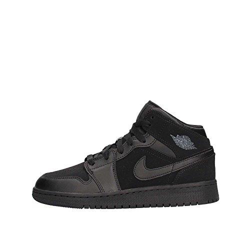 half off 726e0 07d4f Nike Air Jordan 1 Mid Bg, Scarpe da Basket Bambino