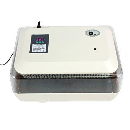 Ridgeyard-24-Egg-Incubator-Digital-Clear-Hatcher-Temperature-Control-Automatic-Egg-Turning