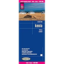 Reise Know-How Landkarte Kenia (1:950.000): world mapping project