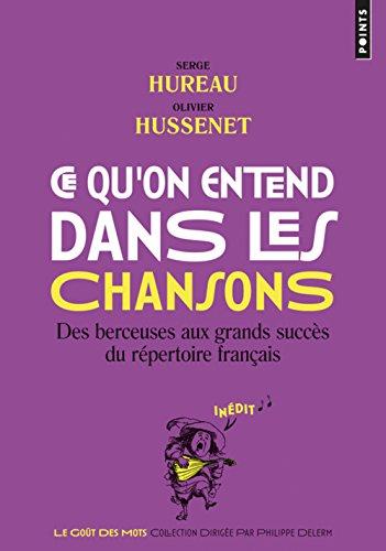 Preisvergleich Produktbild Ce Qu'on Entend Dans Les Chansons