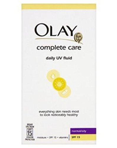 Olay Complet 3In1 Légère Jour Hydratante Fluide Spf15 Normale / 200Ml Huileuse - Lot De 2