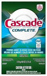 Procter & Gamble 95788 Cascade 60Oz Powder Dishwashing Detergent
