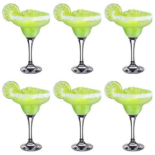 Rink Drink Margarita Cocktail Gläser - 295ml - 6er Pack - Margarita-gläsern