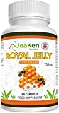Best Royal Jellies - Royal Jelly by JeaKen - 60x750mg High Potency Review