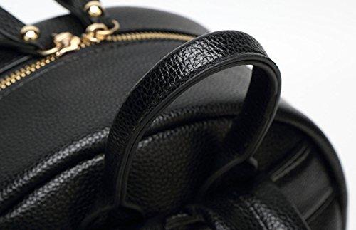 Keshi Pu Niedlich Damen accessories hohe Qualität Einfache Tasche Schultertasche Freizeitrucksack Tasche Rucksäcke Weiß