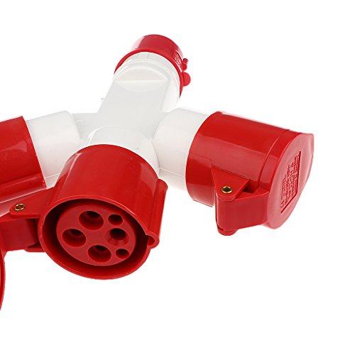Handkraft 16a Steckdose 380V, 4-polig Wasser Wetter Elektrische Verbinder - Bild 3
