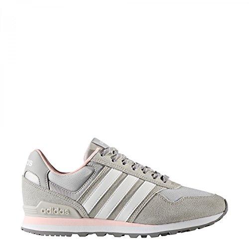 adidas 0k W, Scarpe da Ginnastica Basse Donna Grigio (Grey Two/footwear White/icey Pink)
