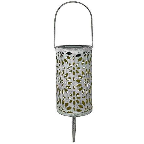 YouN Antique Solar Lantern Indoor Outdoor Light Waterproof Garden LED Decor Lamp -