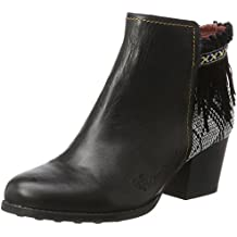 Desigual Shoes_Country Exotic Black, Botas Chelsea para Mujer
