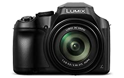 Panasonic Lumix Dmc-fx01eb-s Dc Fz82eg Bridge Camera 18 Megapixels, 20 Mm Wide Angle, 60x Optical Zoom, 4 K30p Video To Name Black Hybrid Contrast Af