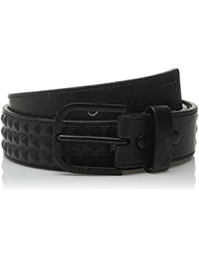 Volcom Cinturón Draft Belt, New Black, 34, d5921601nbk