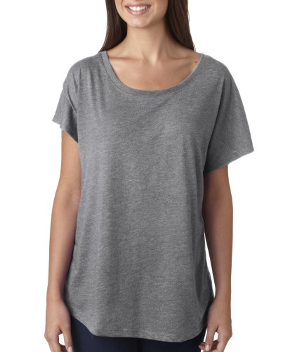 Next Level - T-shirt - Femme Gris - PREMIUM HEATHER