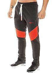 SMILODOX Slim Fit Jogginghose Herren | Trainingshose für Sport Gym Fitness Training & Freizeit | Sporthose - Jogger Pants - Sweatpants Hosen - Freizeithose Lang