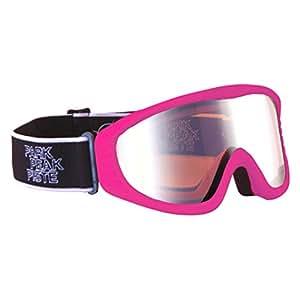 Manbi Vulcan Masque de ski vert Rose néon Adulte